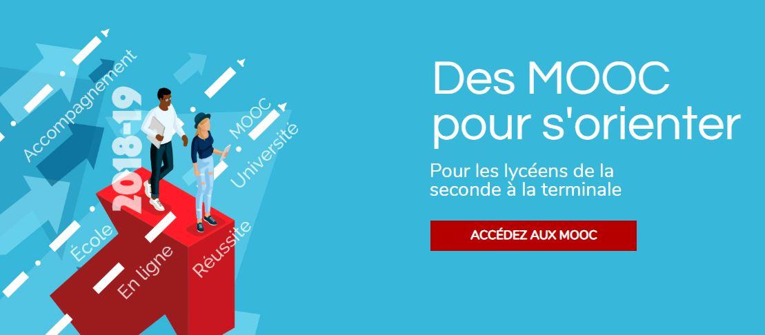 Lycéens: Des MOOC pour s'orienter !
