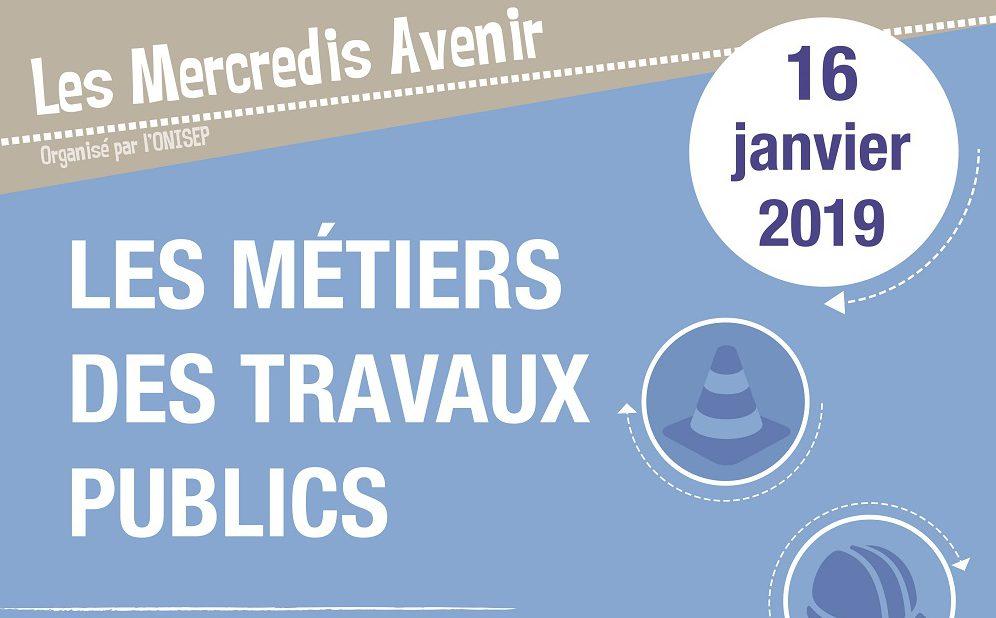 Les mercredis Avenir de Reims - Métiers des travaux publics